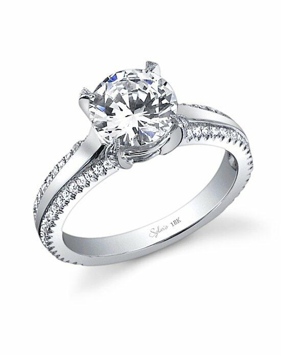 Sylvie Collection SY455 Engagement Ring photo