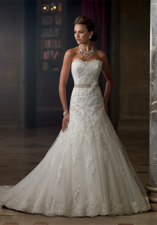 David Tutera for Mon Cheri 213261 Charlene Wedding Dress photo
