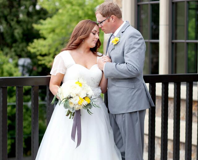 A Vibrant Yellow Wedding In Rexburg ID