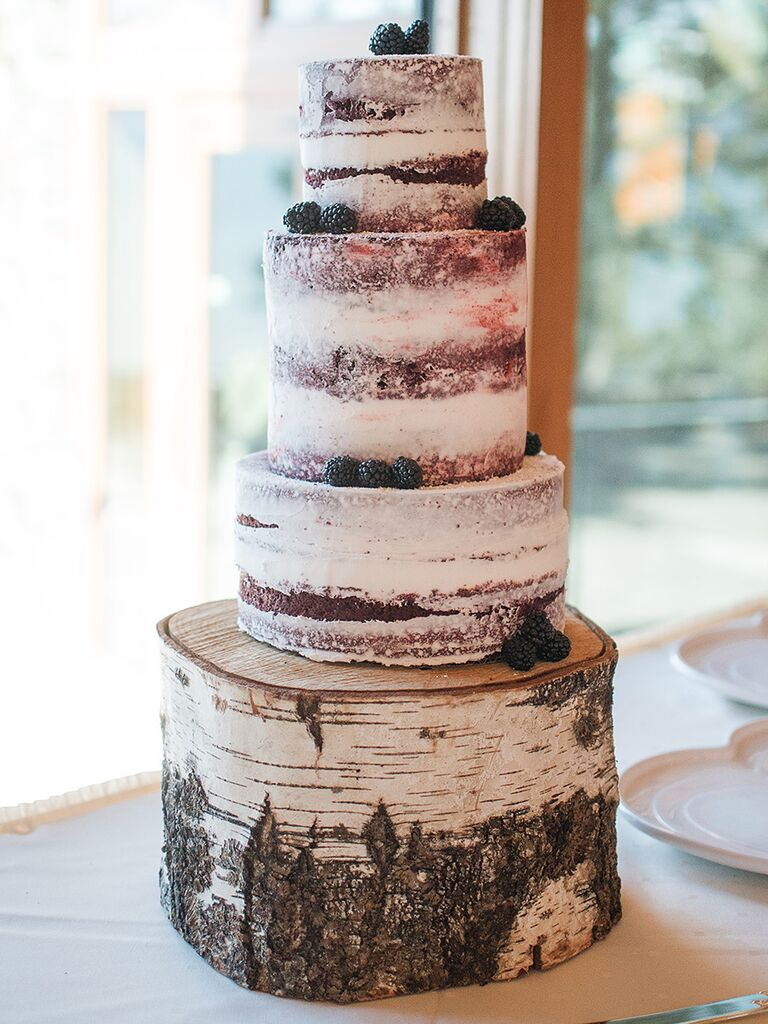 Pictures Of Red Velvet Wedding Cakes