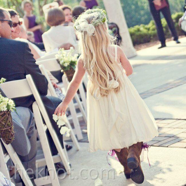 Flower Girl Cowboy Boots