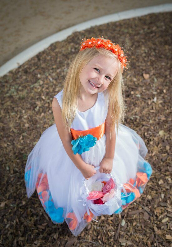 Wallao 3202 Flower Girl Dress photo