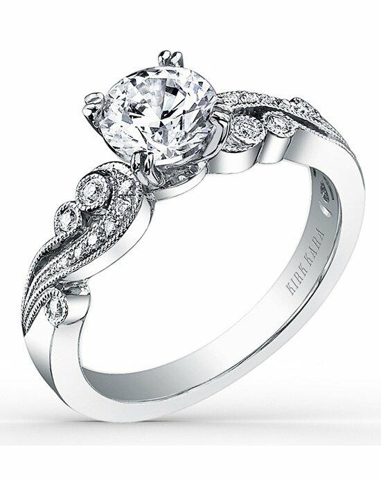 Kirk Kara Angelique Collection K1250DC-R Engagement Ring photo