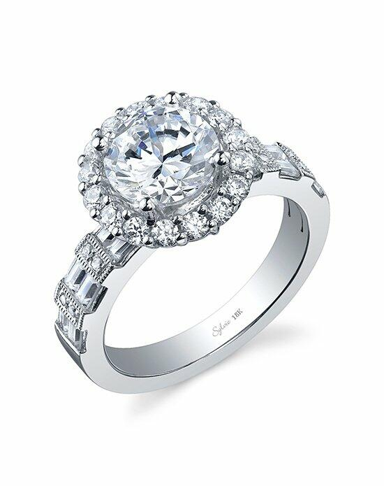 Sylvie Collection SY910 Engagement Ring photo