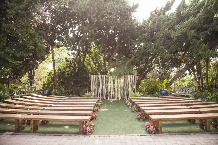 A Rustic Wedding At San Diego Botanical Gardens In Encinitas California