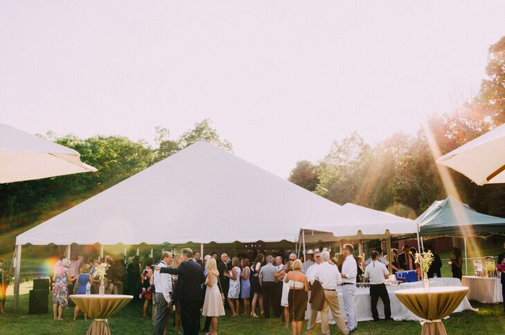 A Colorful Outdoor Wedding At Rockmill Brewery In