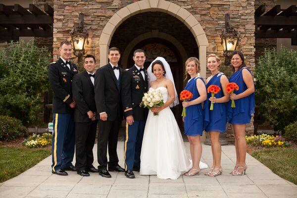 Military Men\'s Wedding Wear