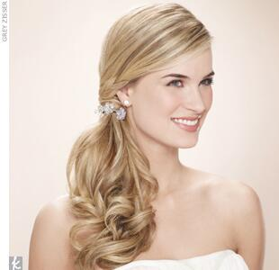 #2 Wedding Hair Accessory: Crystal Hair Ties