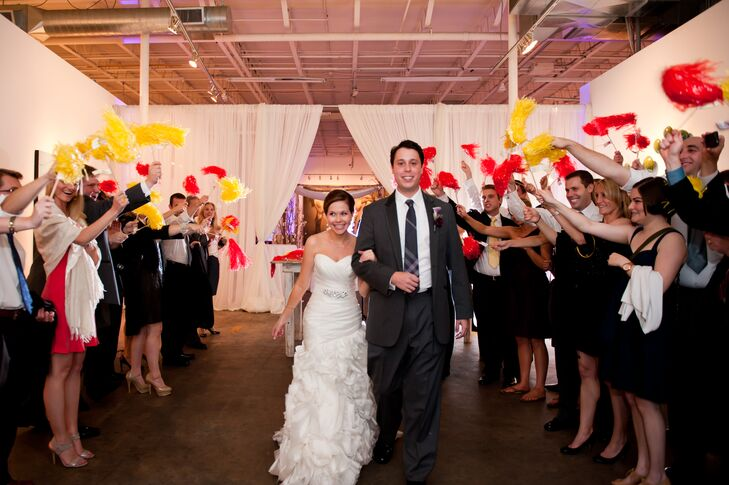 An Industrial Chic Art Gallery Wedding At Mason Murer Fine