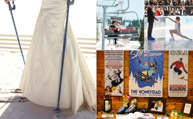 Winter Olympics Inspired Wedding Ideas