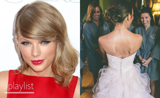 Taylor Swift's 1989 Album Released: Her Top 10 Wedding Morning Playlist Love Songs