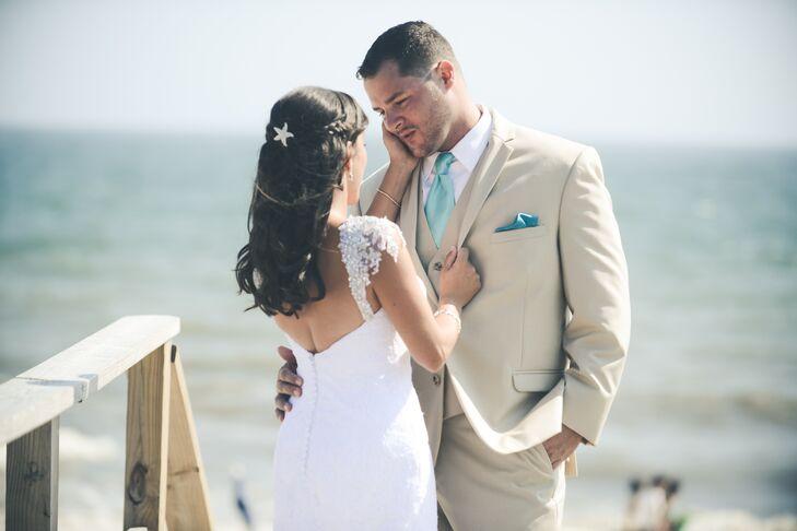 Laid-Back Beach Wedding Attire