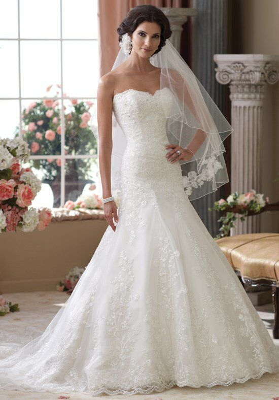 David Tutera for Mon Cheri 114283 Wedding Dress photo