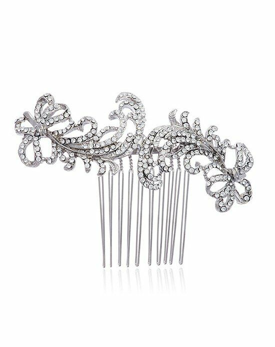 Thomas Laine Caleigh Swarovski Crystal Comb Wedding Accessory photo