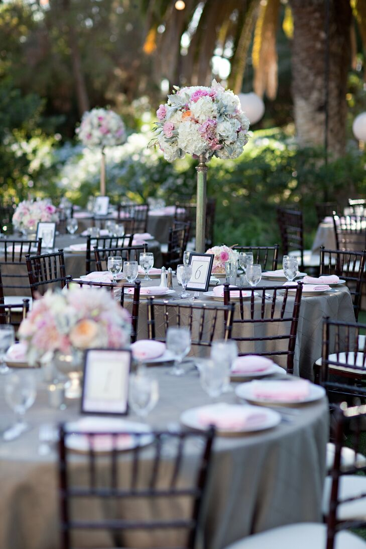 A romantic garden wedding at mccormick home ranch in for Mccormick home
