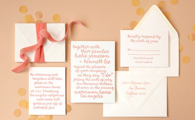 3 Hot Trends in Wedding Invites from the National Stationery Show