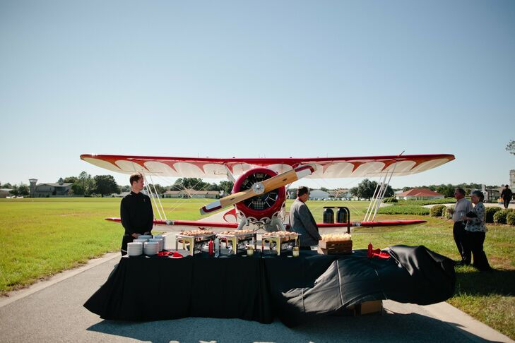 A Biplane Themed Wedding In Ocala Fl