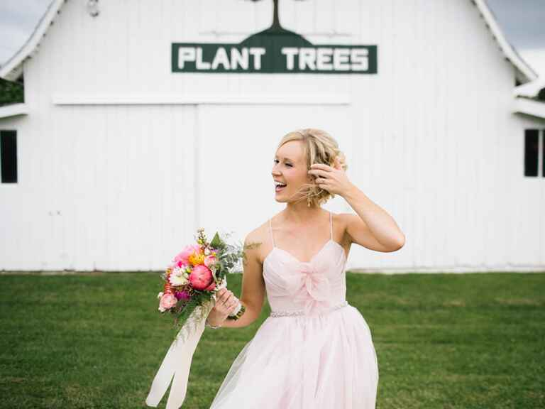 historic morton barns wedding reception
