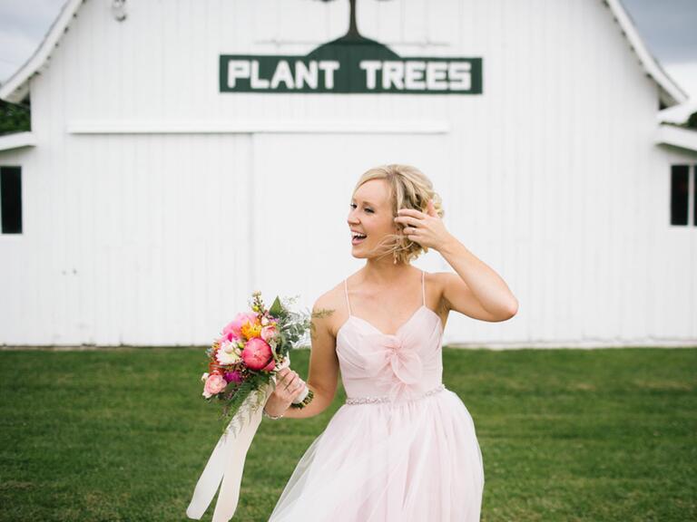 historic morton barns wedding reception