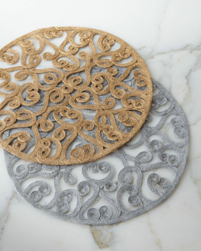 Formal Place Mats For Your Registry