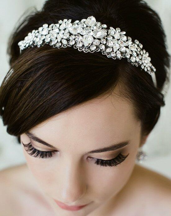 Sara Gabriel Jordan Hair Ribbon Wedding Tiaras photo