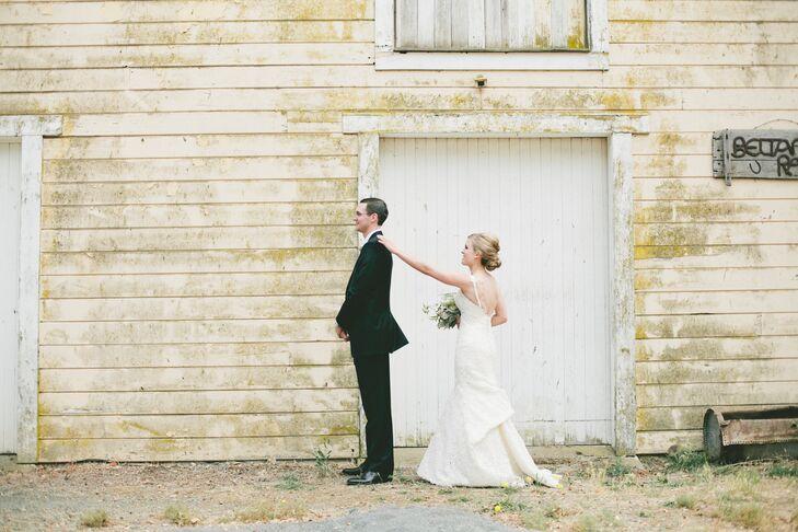 A Vintage Peach Themed Wedding At Beltane Ranch In Glen Ellen California
