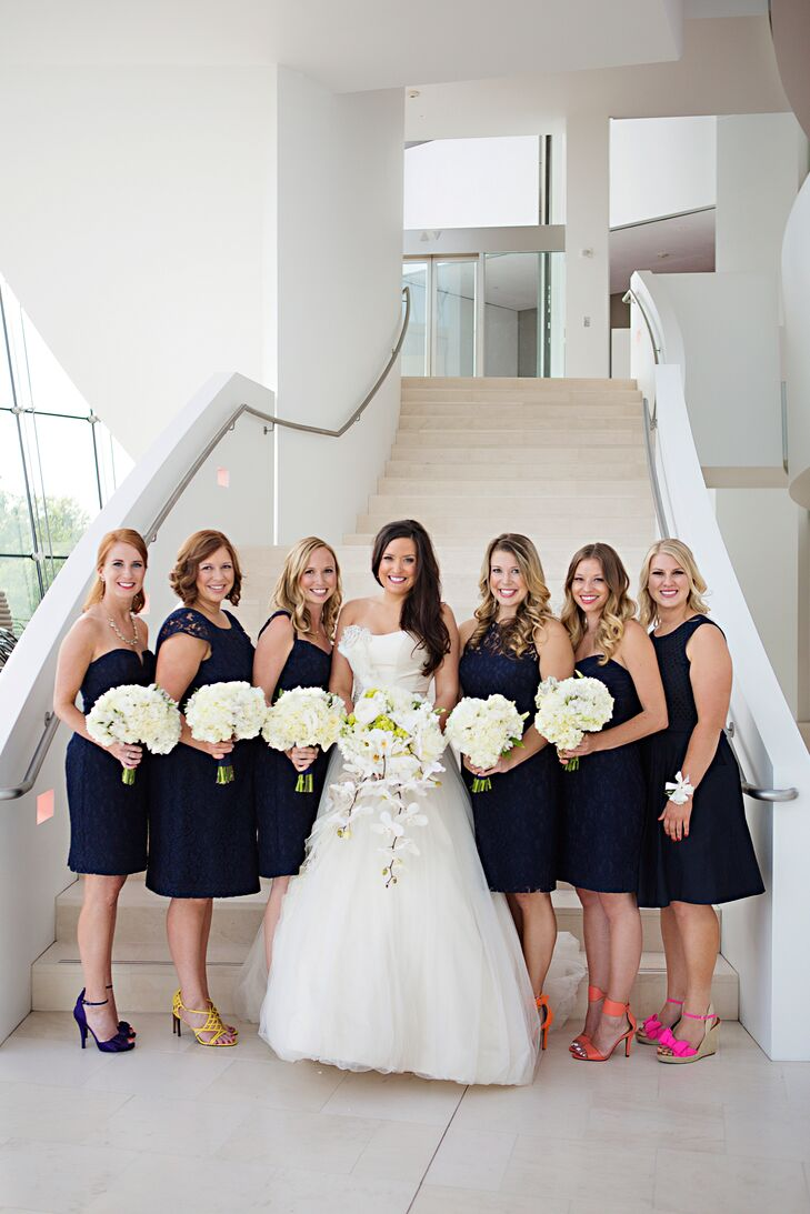 Navy leavers lace jew bridesmaid dresses ombrellifo Choice Image