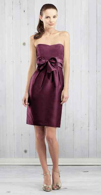 purple bridesmaid dress by Jenny Yoo
