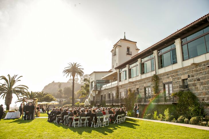 Outdoor Ceremony at Bel-Air Bay Club
