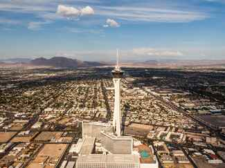 Stratosphere Top of the World restaurant marriage proposal