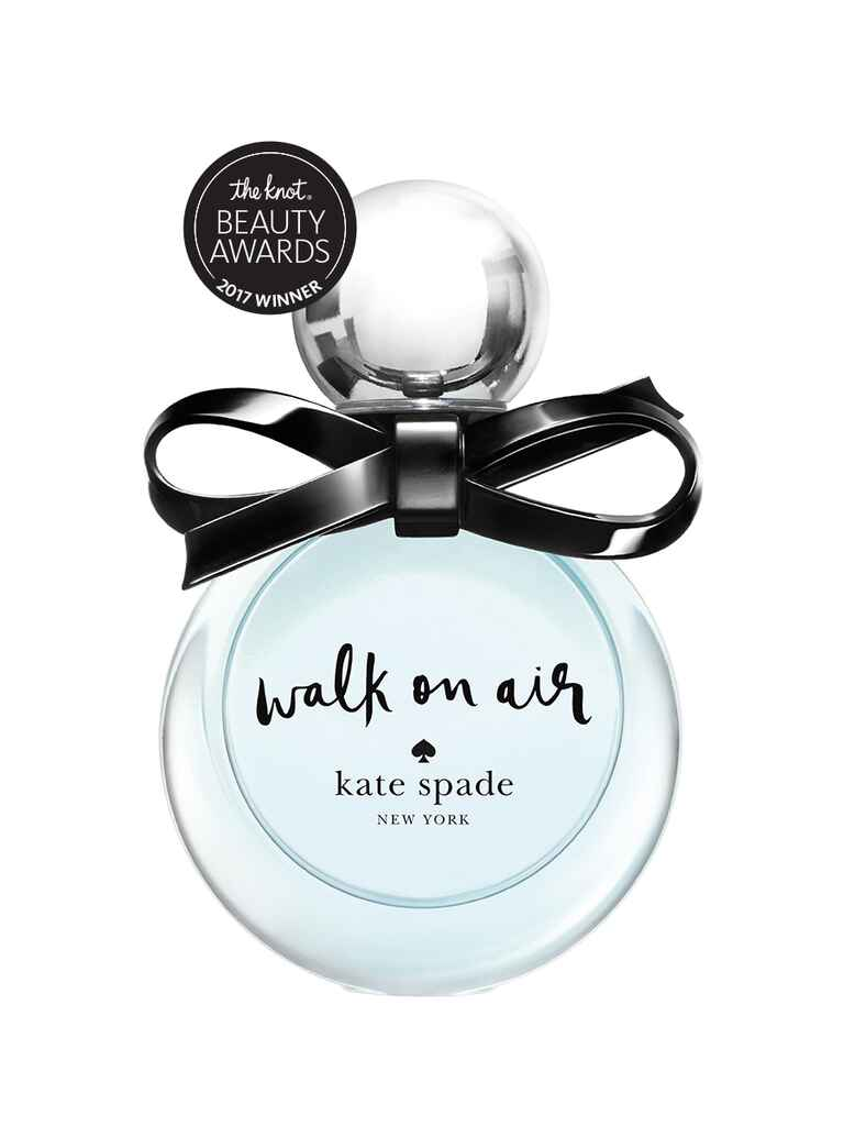 The Knot pick for best sweet fragrance is Kate Spade's, Walk on Air