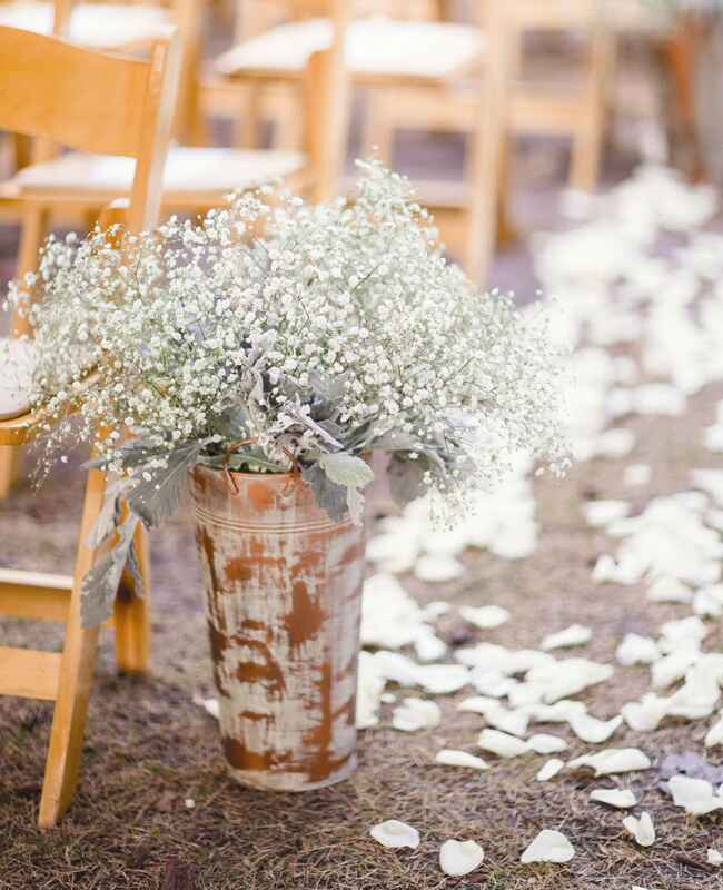 Rustic Copper Vase | Hunter Ryan Photo | blog.TheKnot.com