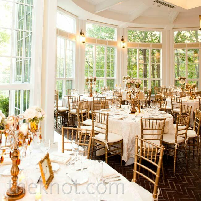 White And Gold Wedding Decorations: White And Gold Reception Decor