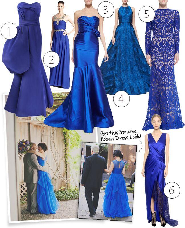 Cobalt Blue Wedding Dresses Is The New Twist On \