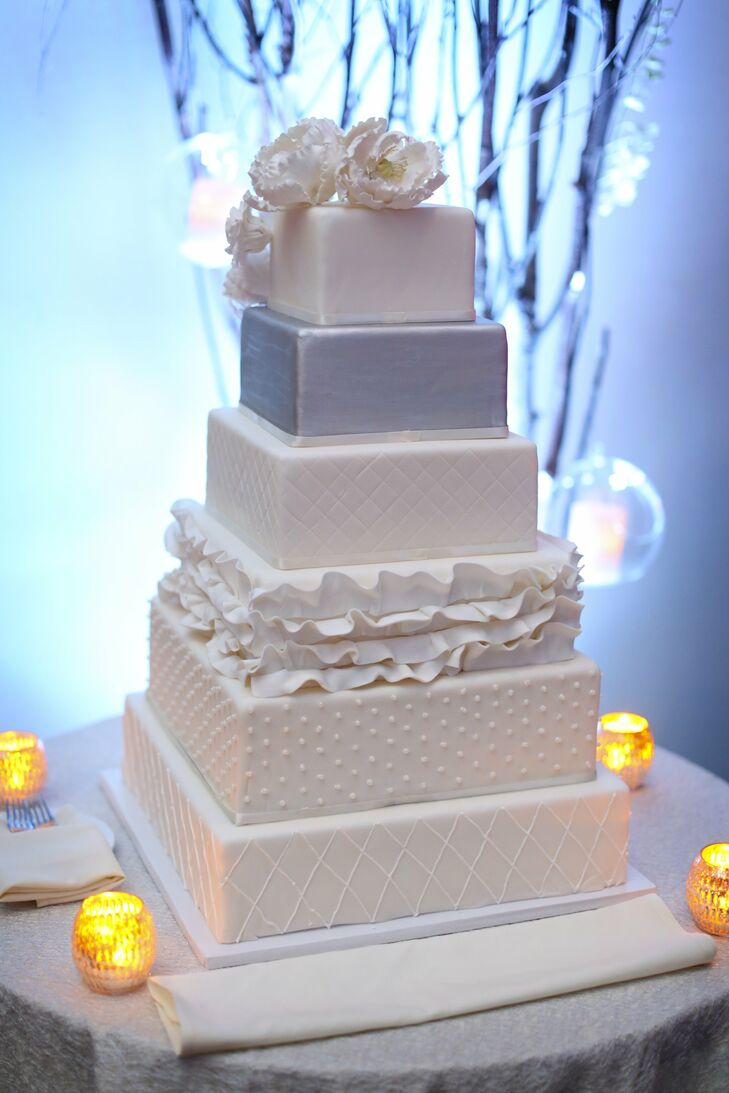 images of 6 tier wedding cakes modern six tiered wedding cake 16324