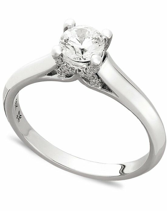 Macy s IE1373CWA1 Engagement Ring The Knot