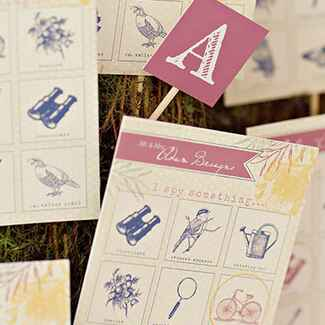 Game Night Wedding Details | blog.theknot.com