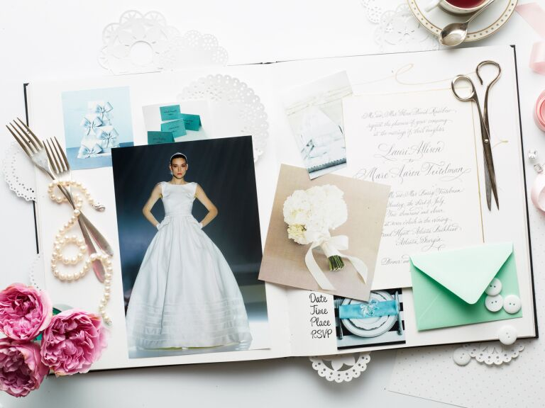 How to make an inspiration board for your wedding