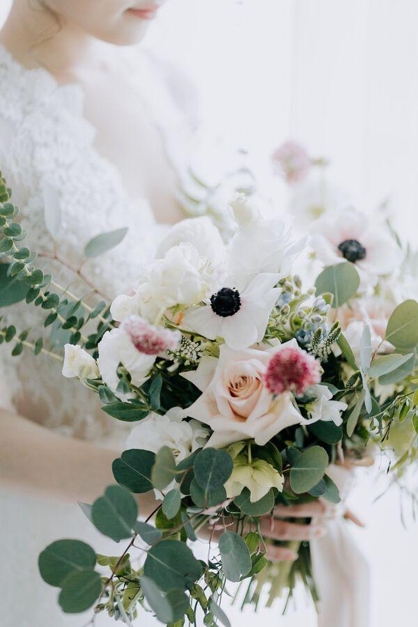 Anemone Flower Wedding Bouquets