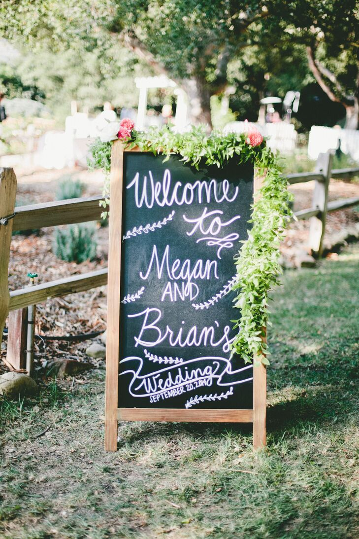 a rustic backyard wedding with an elegant twist at a private