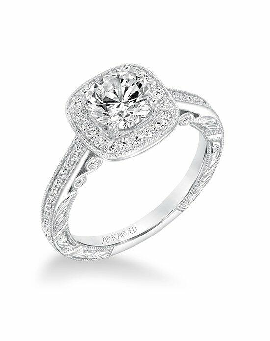 ArtCarved 31-V686ERW-E Engagement Ring photo
