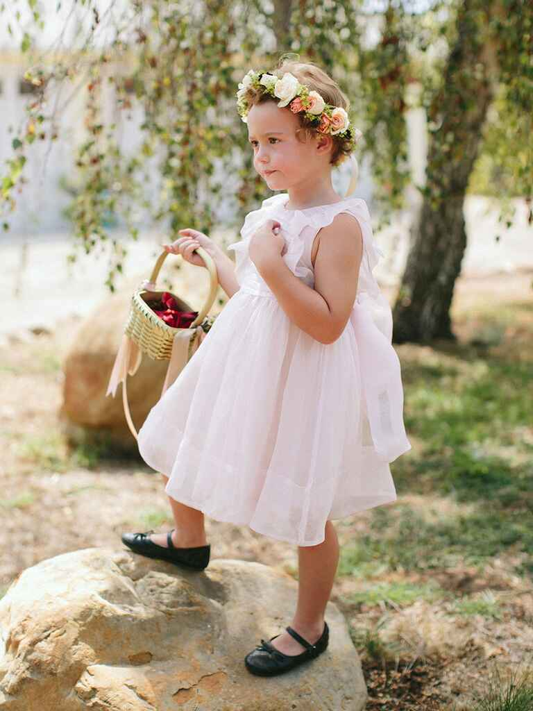 Stylish flower girl