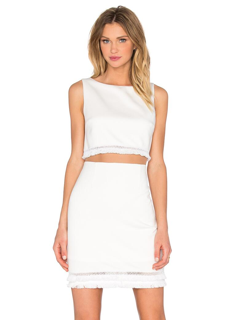 White Hot Bachelorette Party Dress