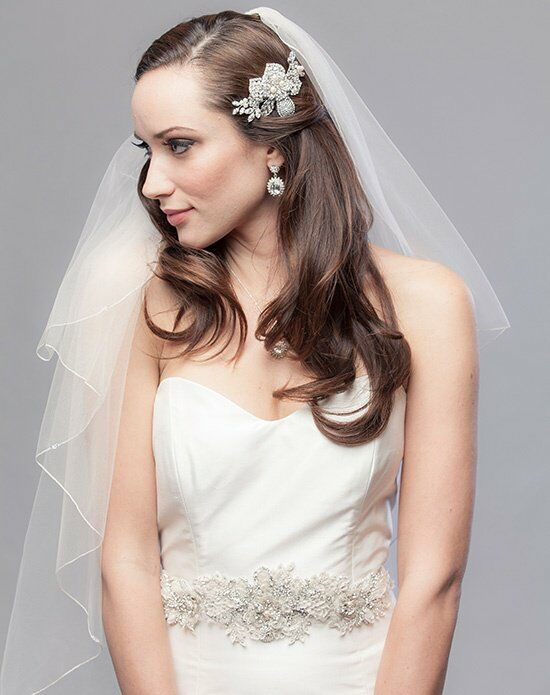 Laura Jayne Kinsley Floral Sash Wedding Accessory photo