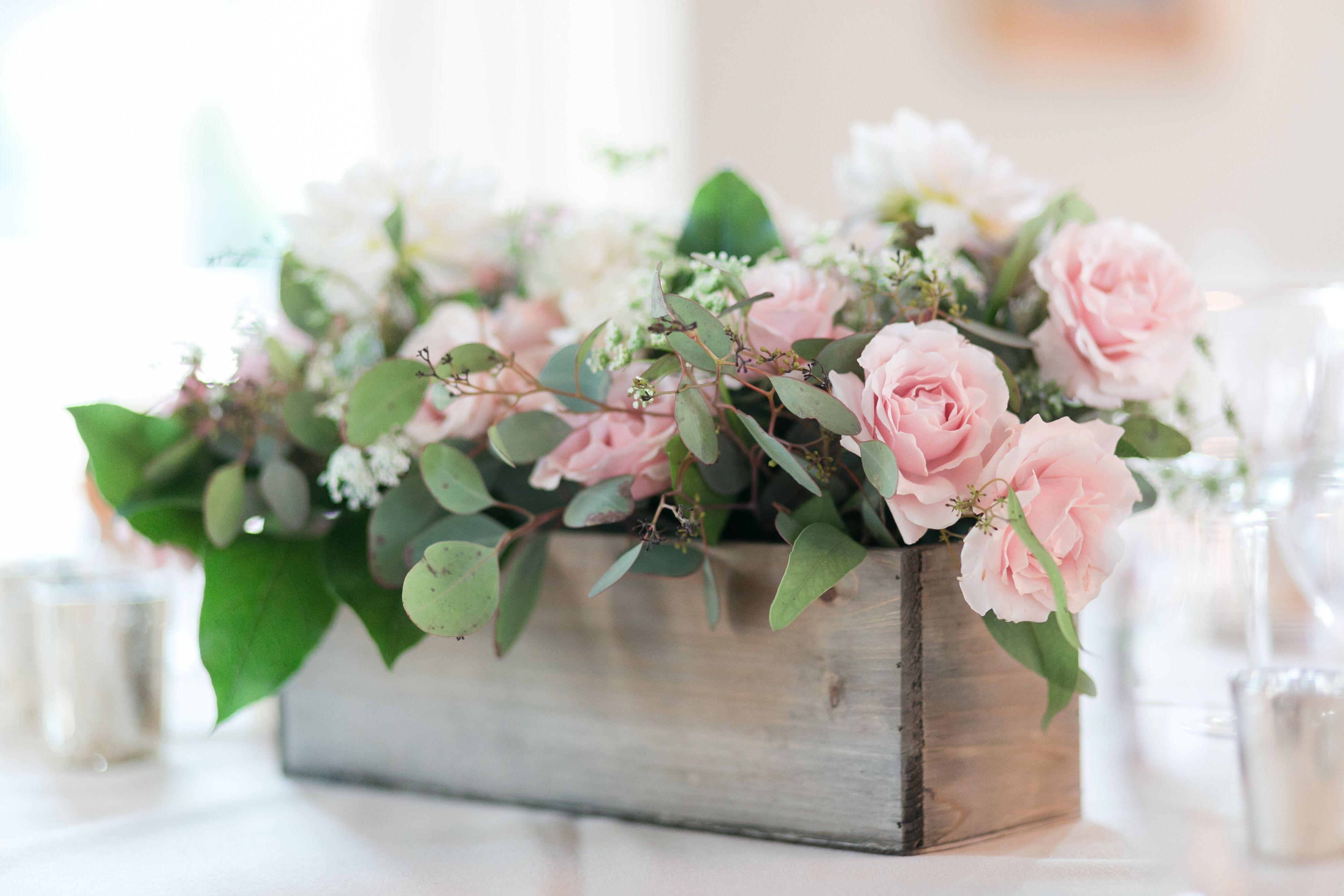 Flower Planter Box Centerpiece
