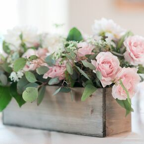 Flower Planter Box Centerpiece