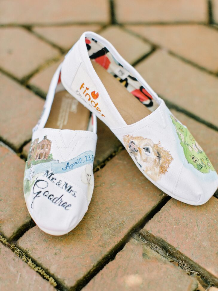 Personalized Hand-Painted Sneakers