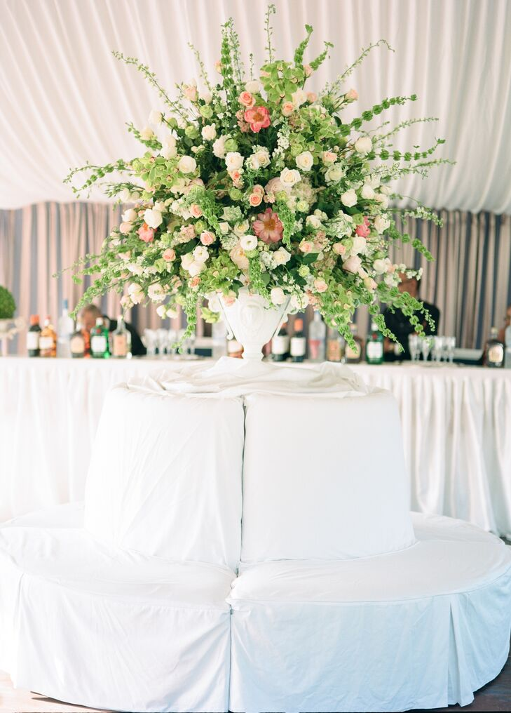 Wild Neutral And Greens Floral Centerpiece