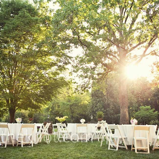 Simple Outdoor Wedding Reception Ideas: Simple Outdoor Reception