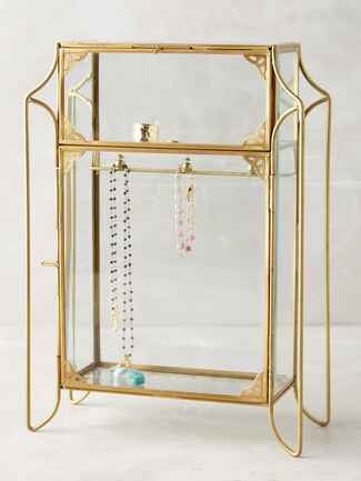 Anthropologie jewelry cabinet wedding gifts for bride